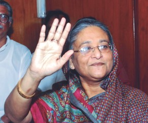 Prime Minister Sheikh Hasina - in no mood for compromise. Photo: Star File
