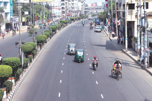 Fear and intimidation keep the streets during hartals. Photo: Star File