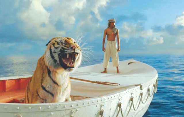 The wits of both man and beast were tested by adventurous ordeals on open waters for 227 days.