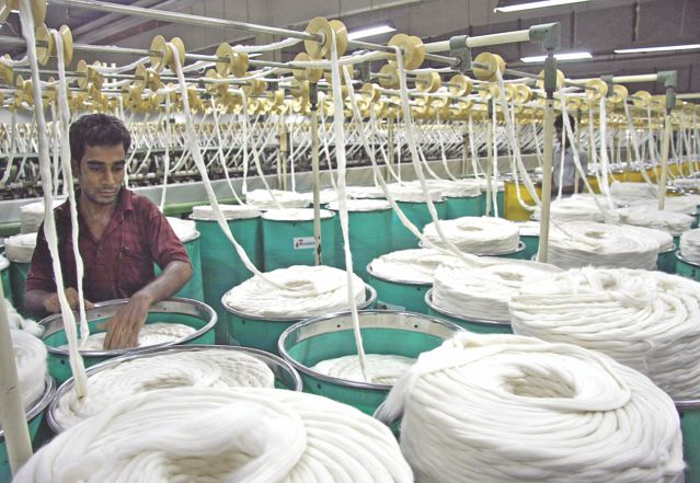 Cotton importers' failure to pay suppliers is blamed on fluctuating prices on the international markets. Photo:amran hossain