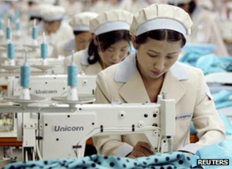 More than 50,000 North Koreans usually work at Kaesong