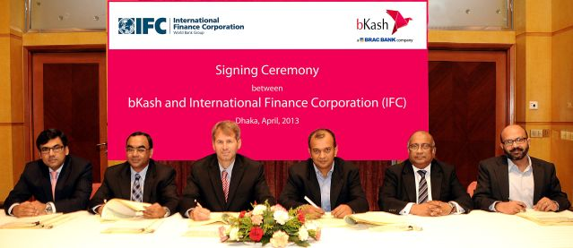 IFC takes a stake in bKash