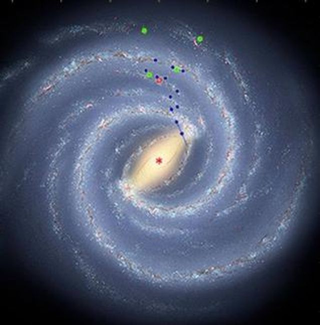 Milky Way Black Hole (page 3) - Pics about space