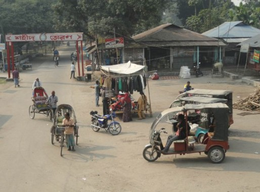 Witness to the gruesome killing of about 600 innocent Bangalees by Pakistan occupation army on April 5, 1971, this place beside Lalmonirhat railway station now has no sign of cognisance. Photo: Star