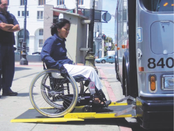 Without accessible transportation, people with disabilities are more likely to be excluded from services and social contact.