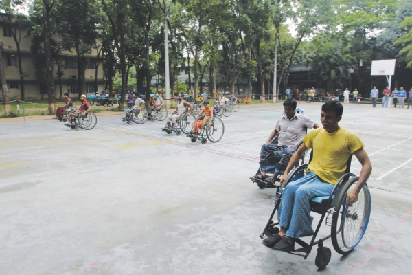 People with disabilities are often defined by what they can't do as opposed to what they can. Photo: Prabir Das