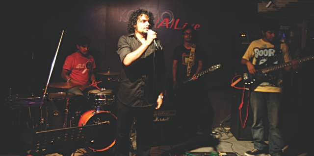 Arbovirus takes to the stage. Photo: orchid chakma