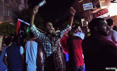 There were protests in Benghazi at the killing of Abdelsalam al-Mismari