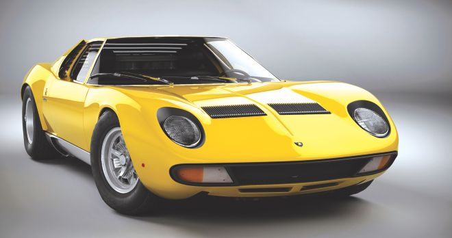 The Lamborhini Miura changed everything about cars when it came out in 1966. Mid engine layout and a shape to die for. It was uncomfortable to drive, unstable at very high speeds and caught on fire ocassionally more often than pop stars get drunk. Yet, people pay millions because of the way it looks, sounds and goes. It epitomises the allure of cars.
