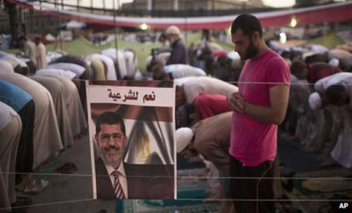 The Muslim Brotherhood fears its refusal to end the sit-in protests could lead to bloody government reprisals