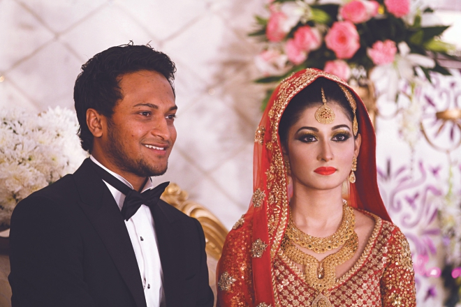 Shakib Al Hasan (Cricketer) family
