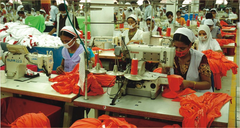 "Though Bangladesh's first garment ""Reaz Garments"" established in but it expanded in 90 decades. The dramatic growth of RMG sector is due to RMG entrepreneurs, BGMEA (Bangladesh Garments Manufacturers and Exporters Association), BKMEA (Bangladesh Knitwear Manufacturers and Exporters Association), government support, GSP facility, low labor cost, effective and efficient worker ."